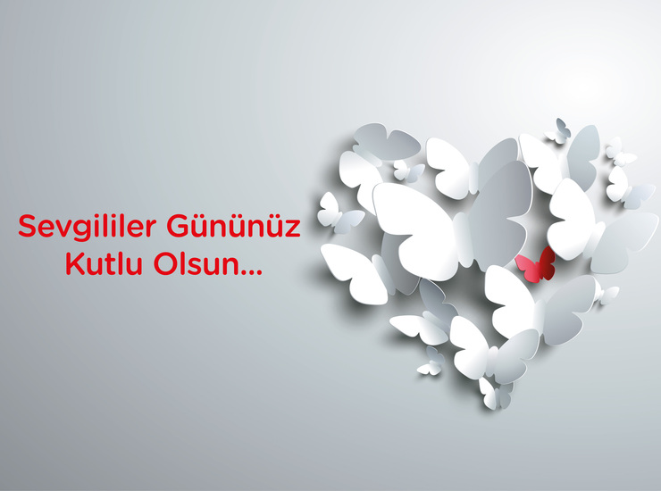 Sevgililer Gününüz Kutlu Olsun...
