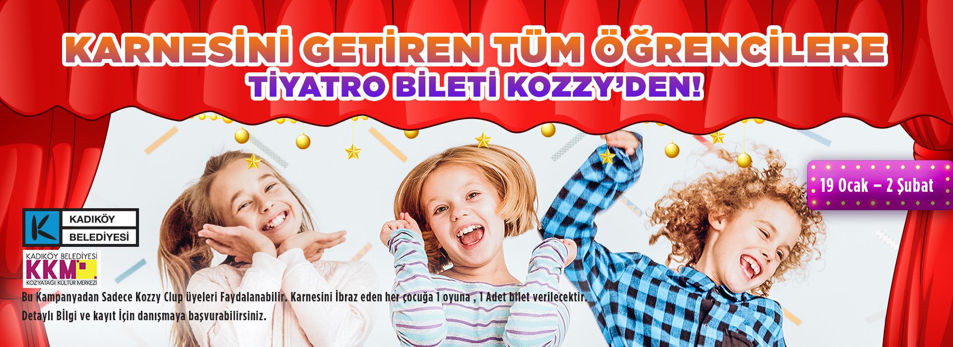 Kozzy'de Sömestri Tiyatro Şenliği Başlıyor!