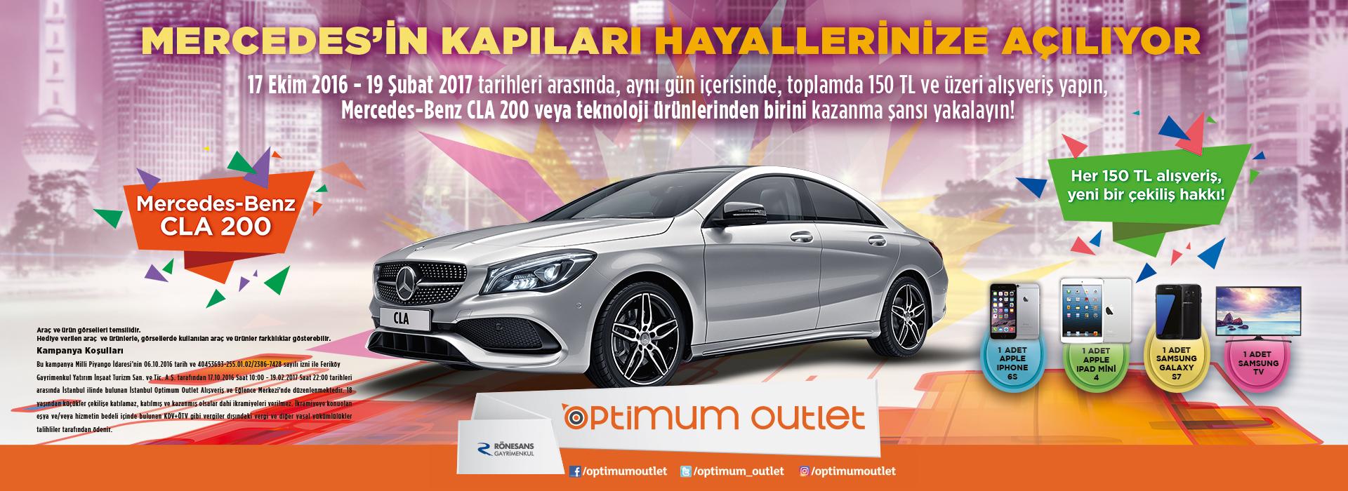 Mercedes'in Kapıları Hayallerinize Açılıyor!