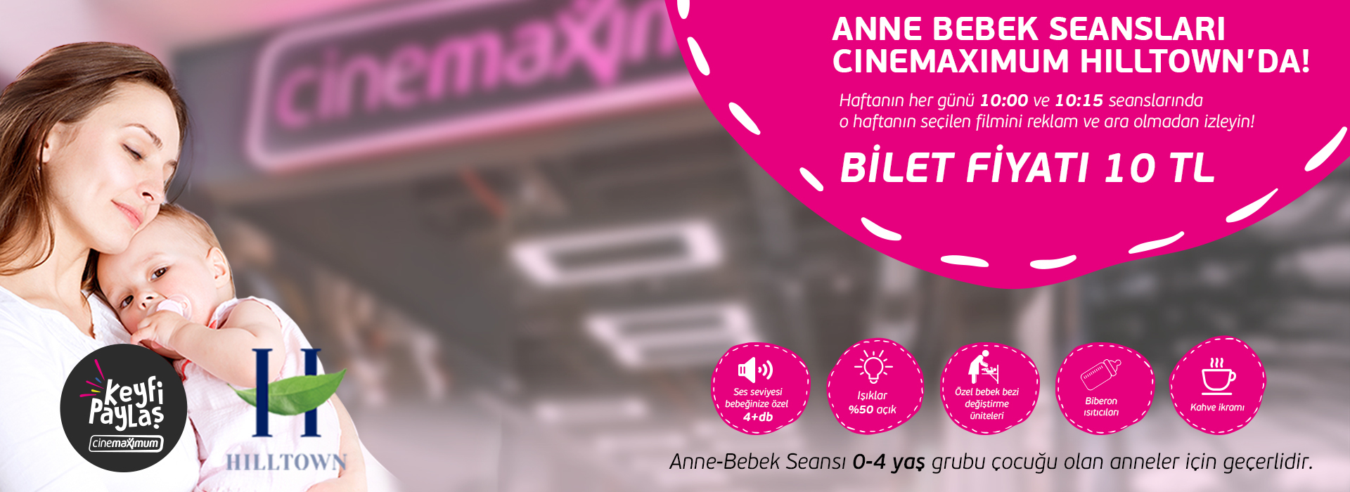 Anne Bebek Seansları Cinemaximum Hilltown'da!