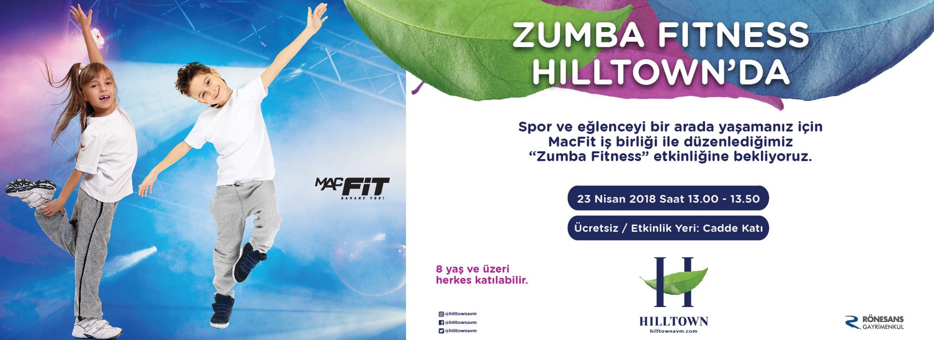 Zumba Fitness Hilltown'da