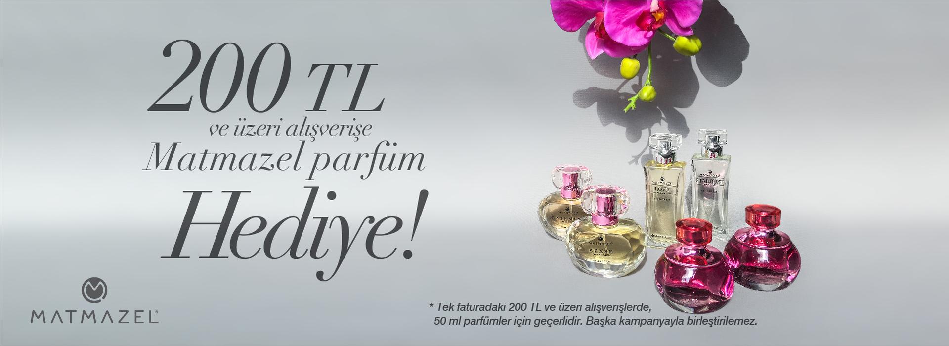 Matmazel - 200 TL ve Üzeri Alışverişe Matmazel Parfüm Hediye …