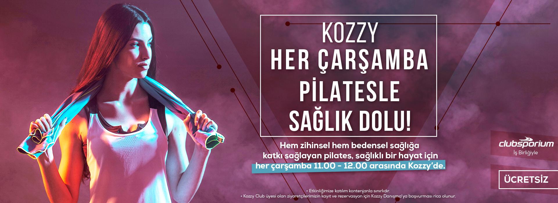 Pilatesli Çarşambalar Kozz' de başlıyor!