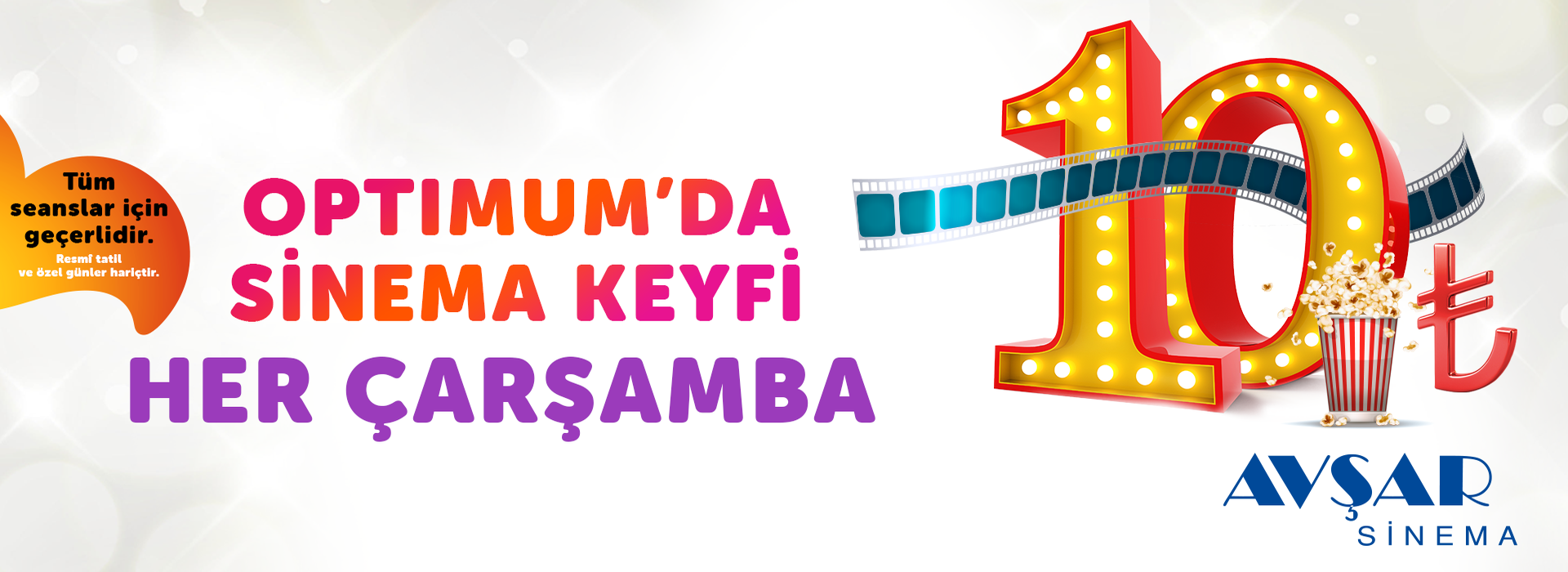 Optimum'da Sinema Keyfi