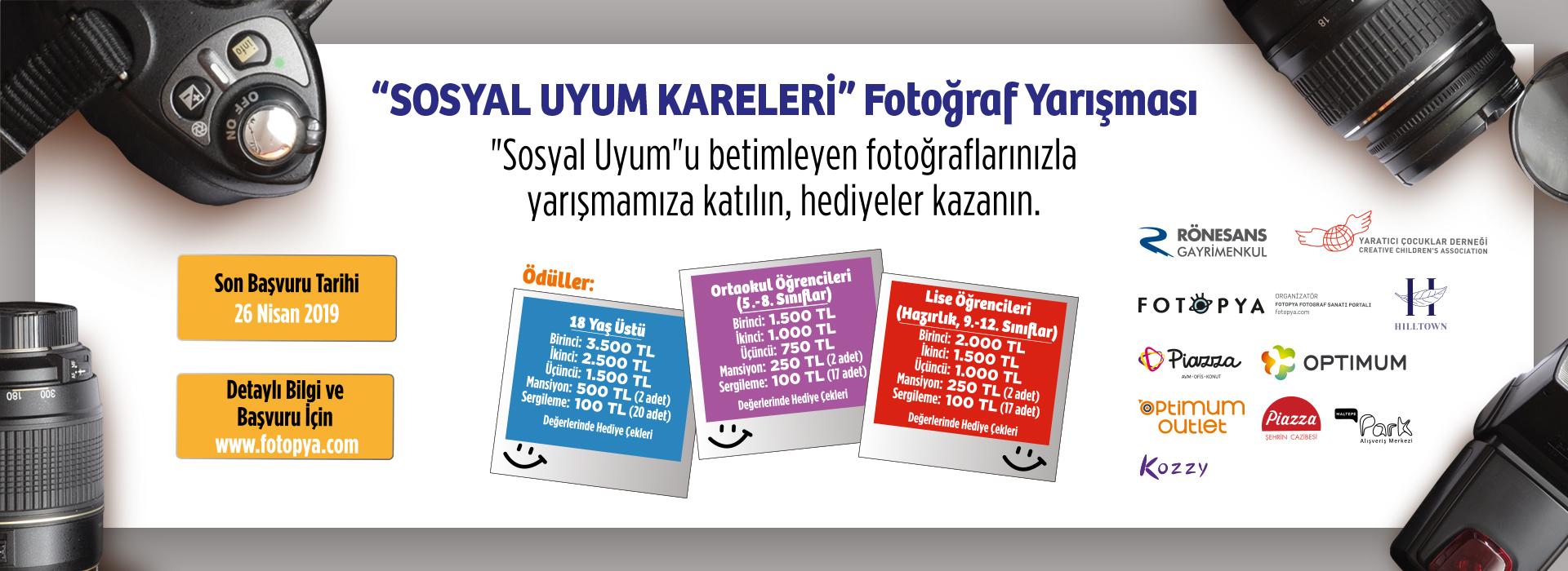 """""""Sosyal Uyum Kareleri"""" Fotoğraf Yarışması"""