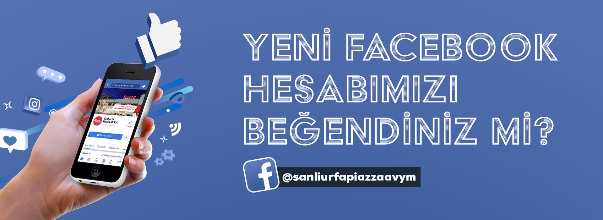 Yeni Facebook Hesabımızı Beğendiniz Mi?