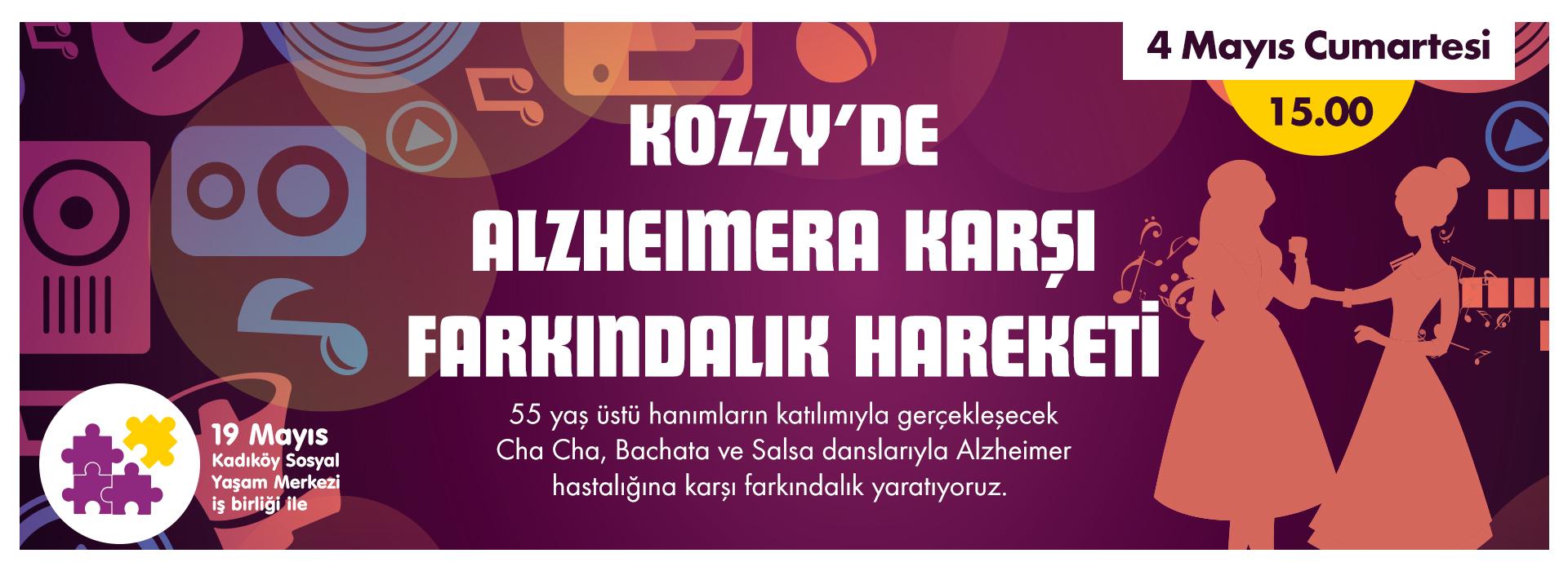 Kozzy'de Alzheimera Karşı Farkındalık Hareketi
