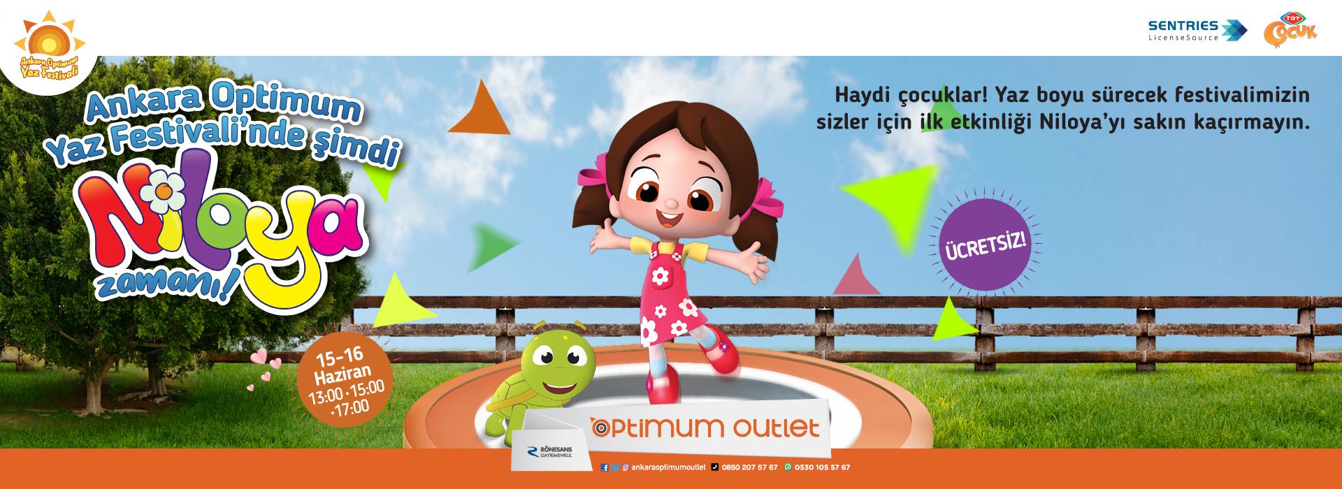 Ankara Optimum Yaz Festivali'nde Şimdi Niloya Zamanı