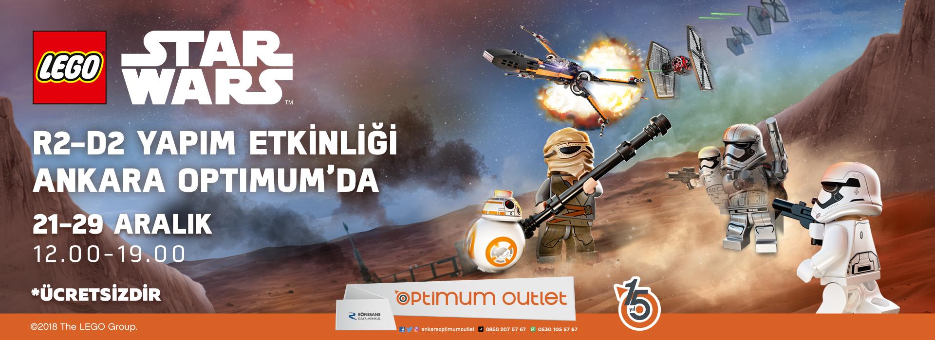 R2-D2 Yapım Etkinliği Ankara Optimum'da