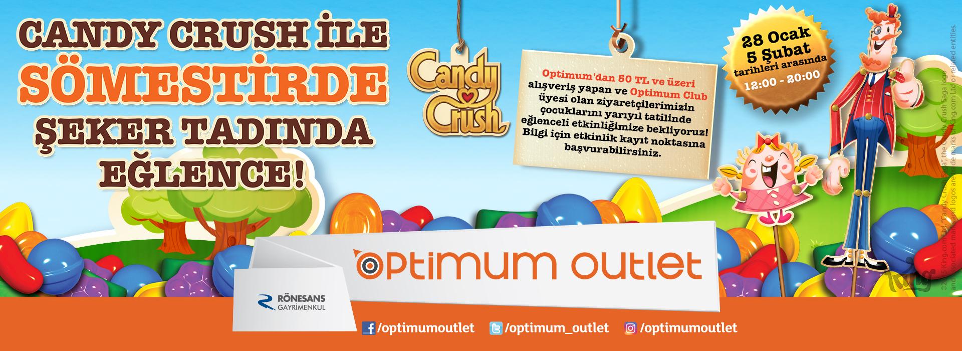 Candy Crush ile Sömestirde Şeker Tadında Eğlence!