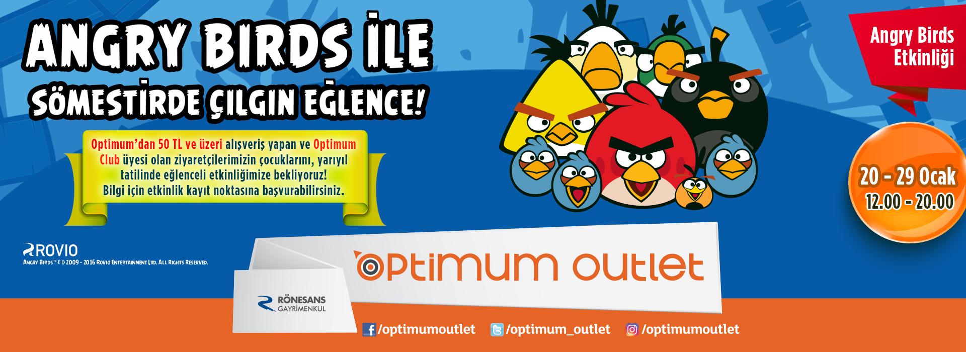 Angry Birds ile Sömestirde Çılgın Eğlence