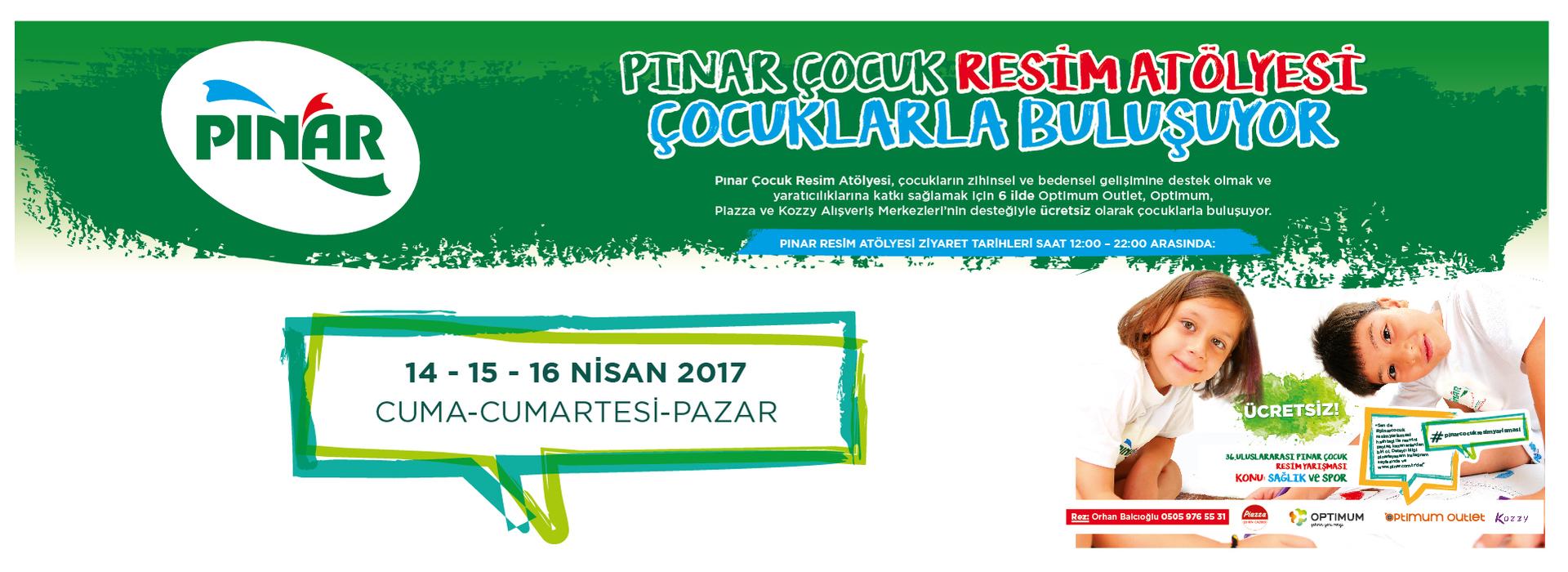 Pınar Çocuk Resim Atölyesi Çocuklarla Buluşuyor