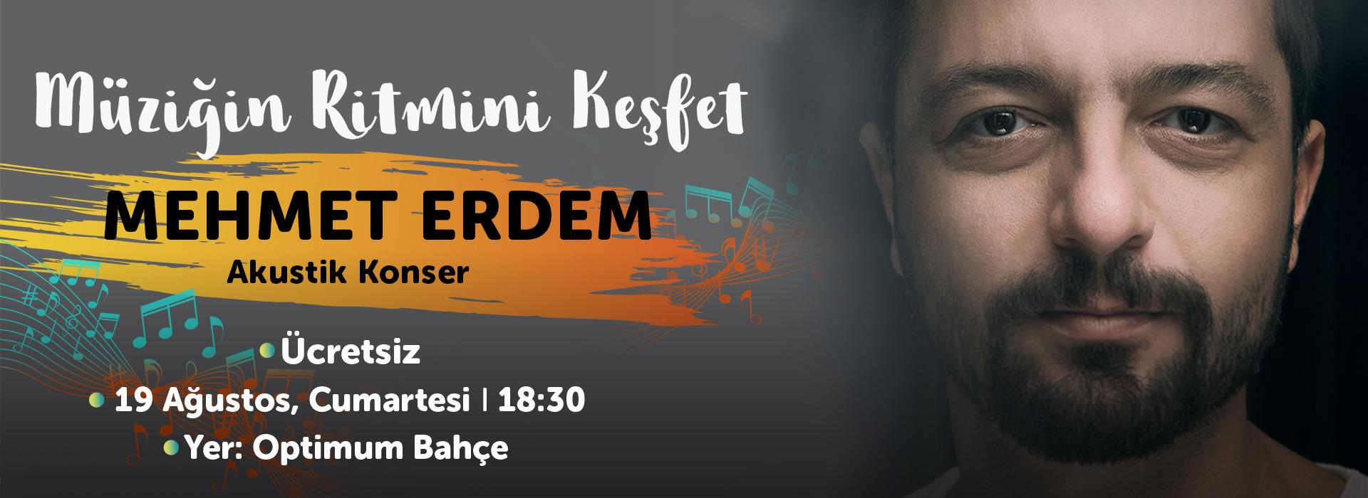 Müziğin Ritmini Keşfet Mehmet Erdem