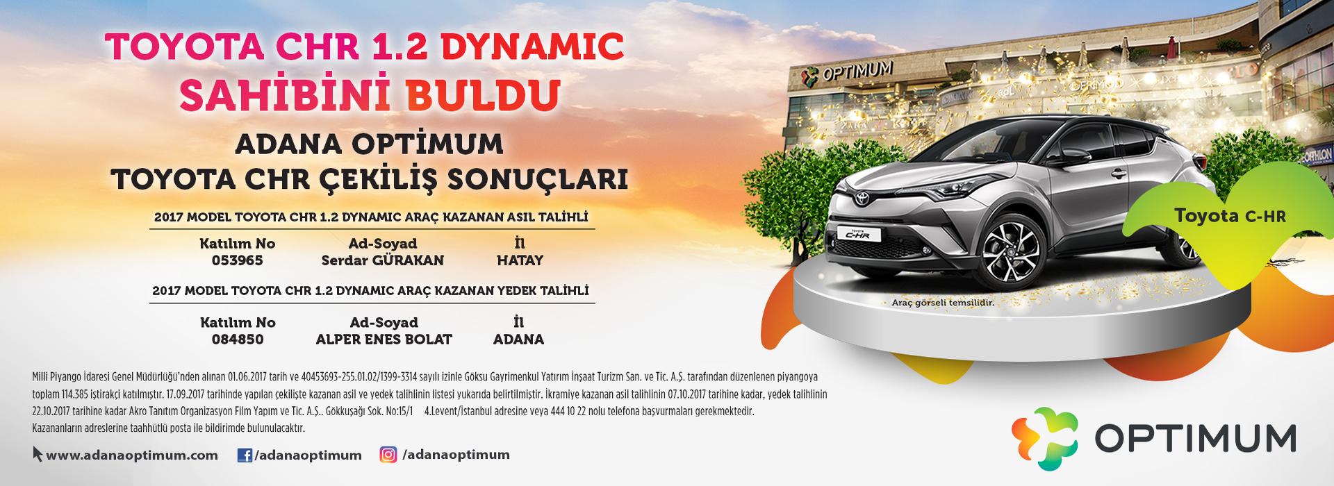 Toyota CHR Sahibini Buldu