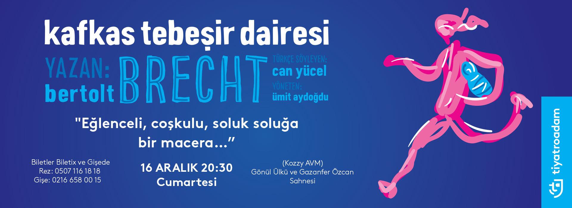Kafkas Tebeşir Dairesi Kozzy AVM Gönül Ülkü Gazanfer Özcan Sahnesinde   Sizlerle !