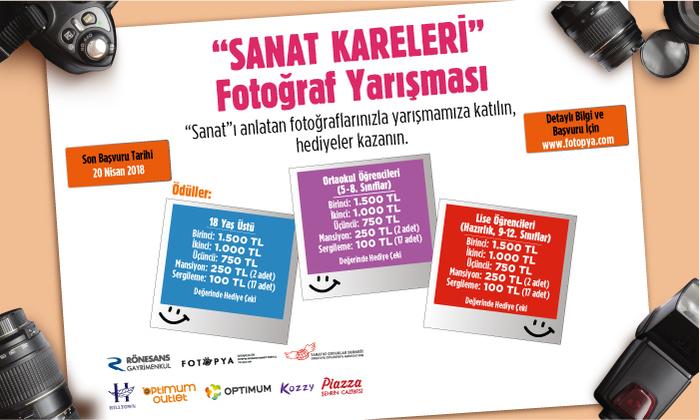 """""""Sanat Kareleri"""" Fotoğraf Yarışması"""