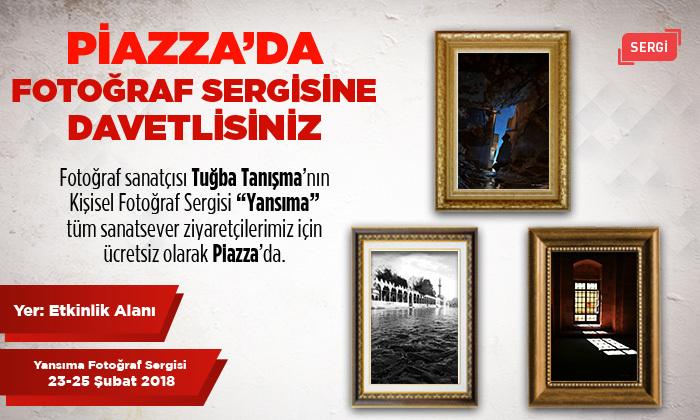 Piazza'da Fotoğraf Sergisine Davetlisiniz