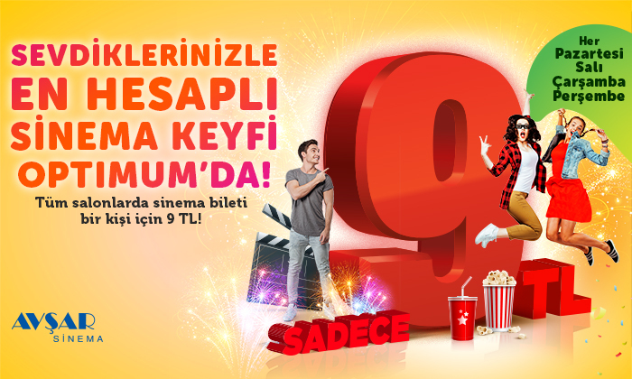 Sinema Keyfi Optimum'da!