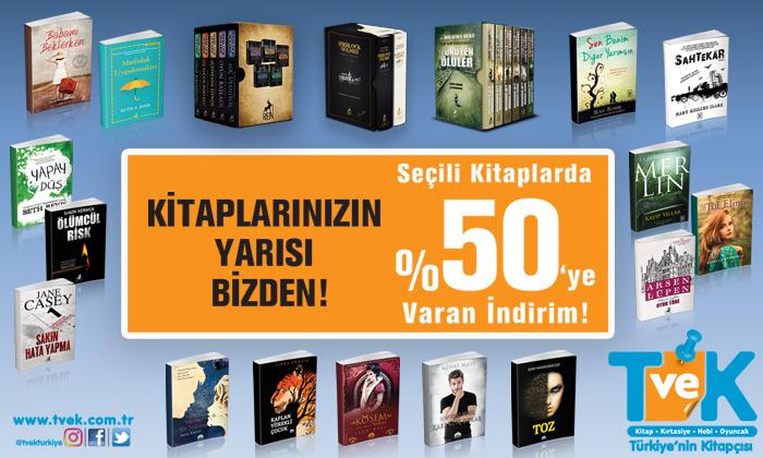 Kitaplarınızın Yarısı Bizden