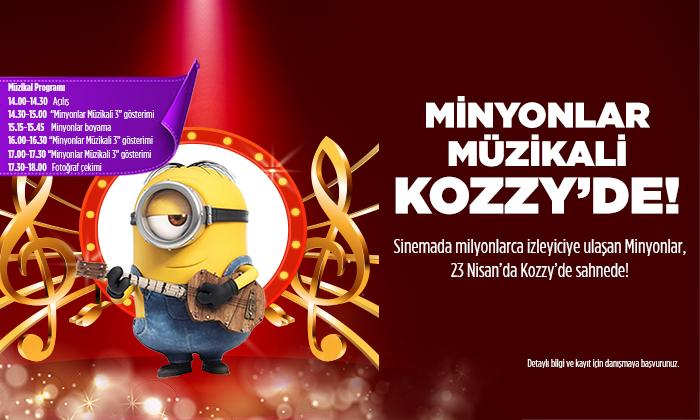 Minyonlar Müzikali Kozzy'de!