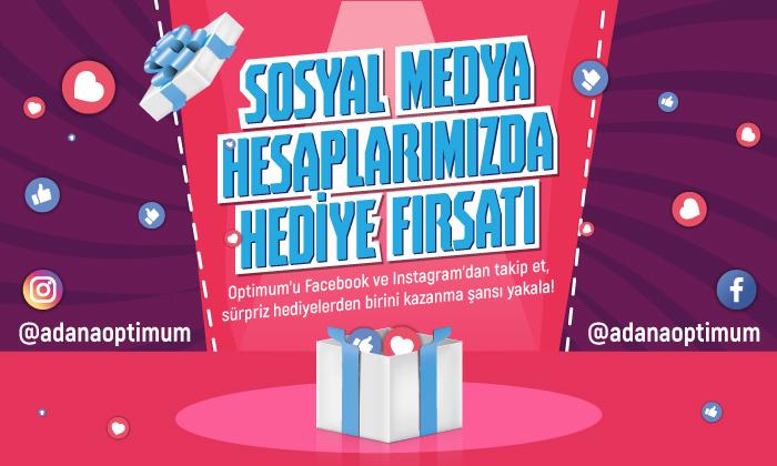 Sosyal Medya Hesaplarımızda Hediye Fırsatı