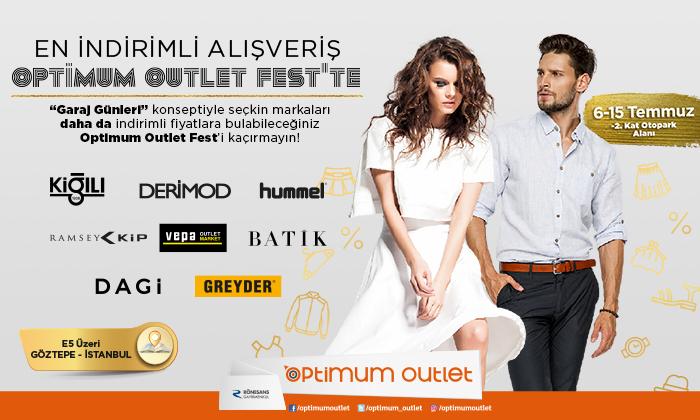 Optimum Outlet Fest Garaj Günleri Konseptiyle Optimum'da !