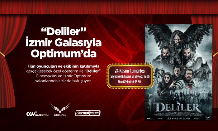 """""""Deliler"""" İzmir Optimum Galası"""
