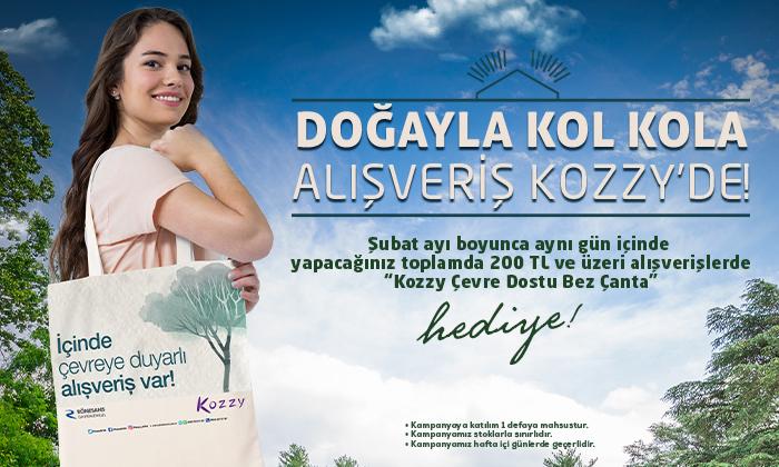 Doğayla Kol Kola Alışveriş Kozzy'de!