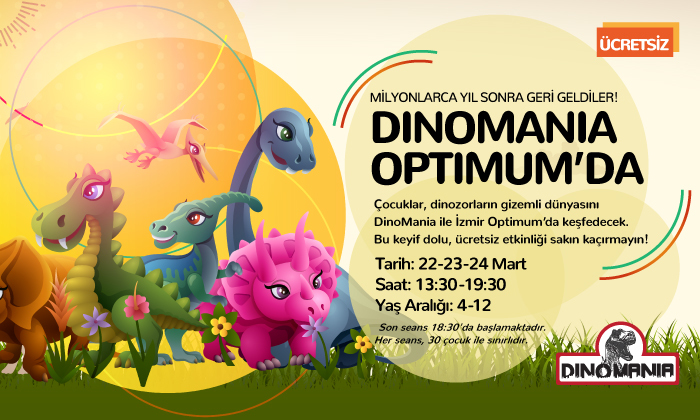 Dinomania Optimum'da
