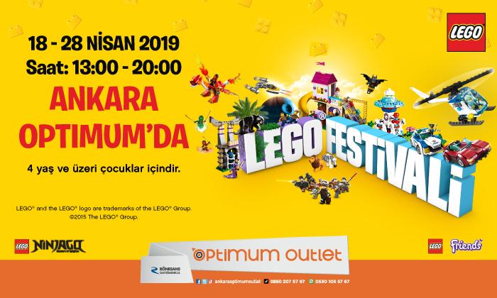 Lego Festivali Ankara Optimum'da