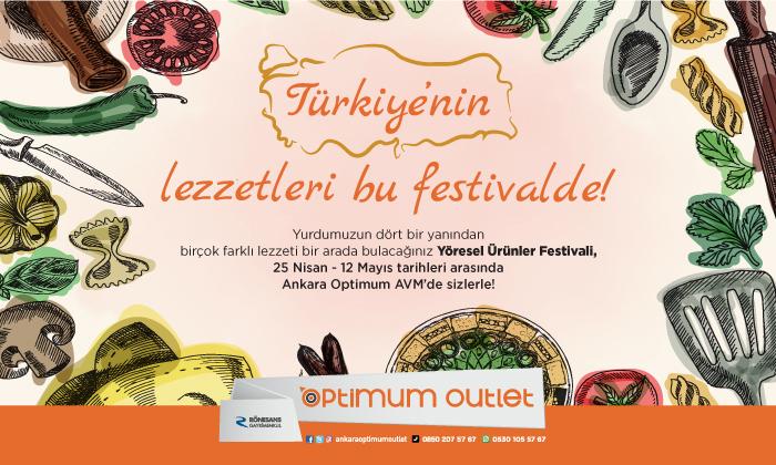Türkiye'nin Lezzetleri Bu Festivalde!