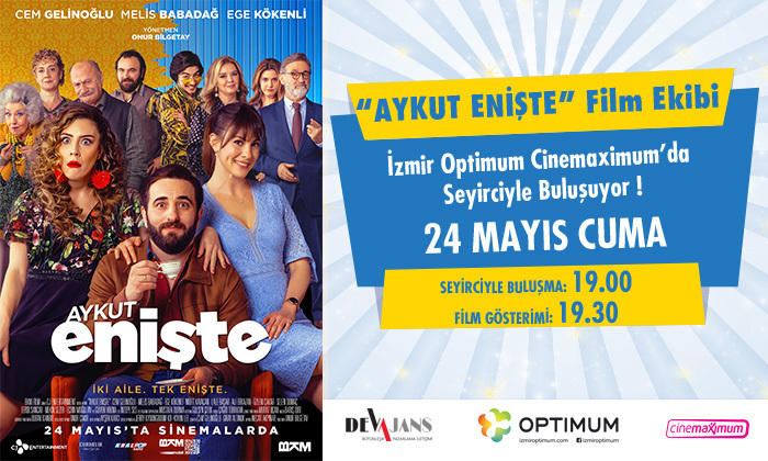 """Aykut Enişte"" Film Ekibi İzmir Optimum'da"