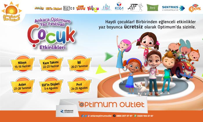 Ankara Optimum Yaz Festivali Çocuk Etkinlikleri