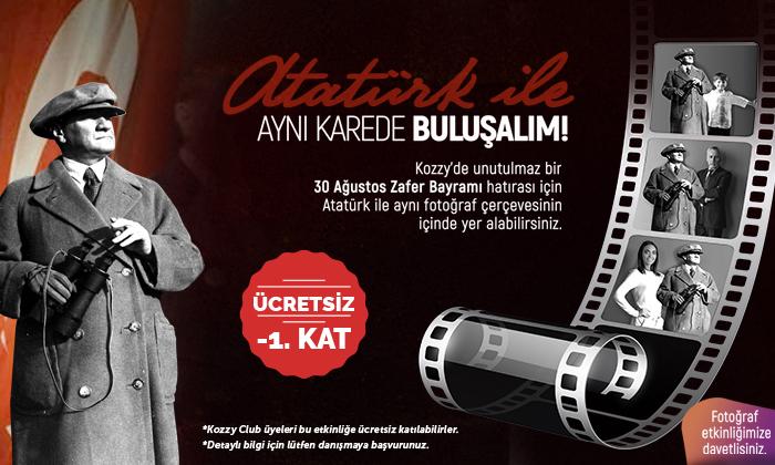 Atatürk İle Aynı Karede Buluşalım!