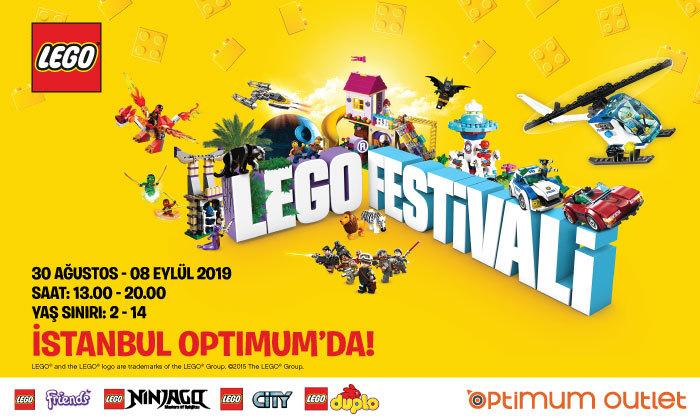 Lego Festivali İstanbul Optimum'da