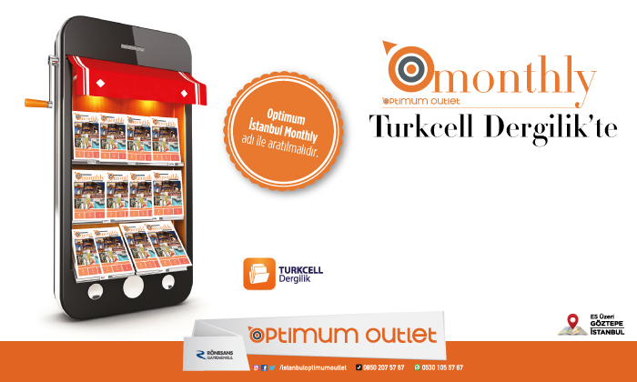 Optimum Omonthly Turkcell Dergilik'te