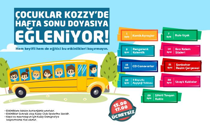 Çocuklar Kozzy'de Hafta Sonu Doyasıya Eğleniyor!