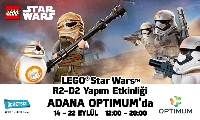 Lego Star Wars R2-D2 Yapım Etkinliği