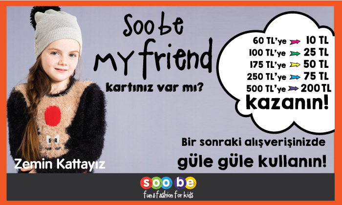Soobe My Friend Kartınız Var Mı?
