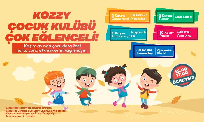 Kozzy Çocuk Kulübü Çok Eğlenceli!