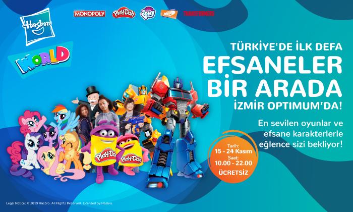 Türkiye'de İlk Defa Efsaneler Bir Arada İzmir Optimum'da