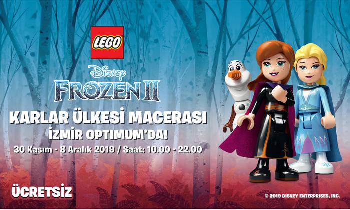 Frozen 2 Karlar Ülkesi Macerası İzmir Optimum'da!