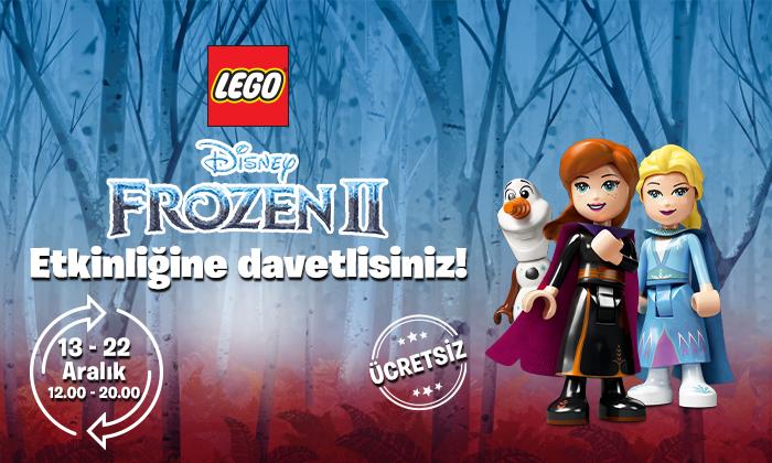 Lego Frozen 2 Etkinliğine Davetlisiniz