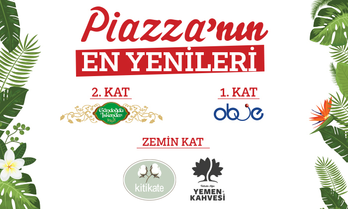 Piazza'nın En Yenileri