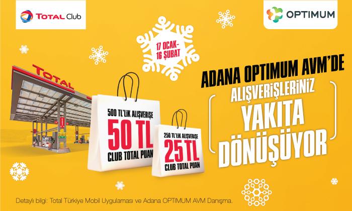 Adana Optimum AVM'de Alışverişleriniz Yakıta Dönüşüyor