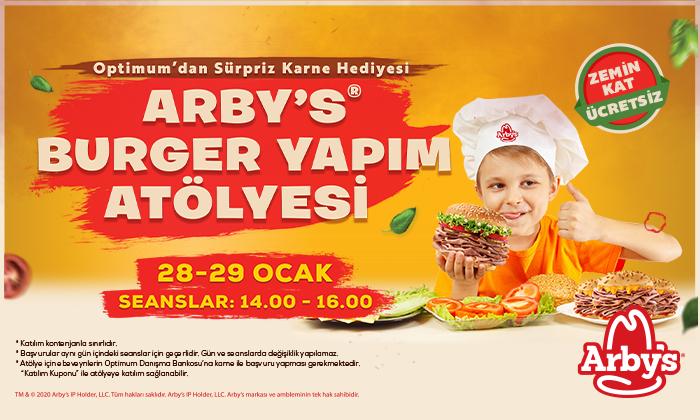 Arby's Burger Yapım Atölyesi
