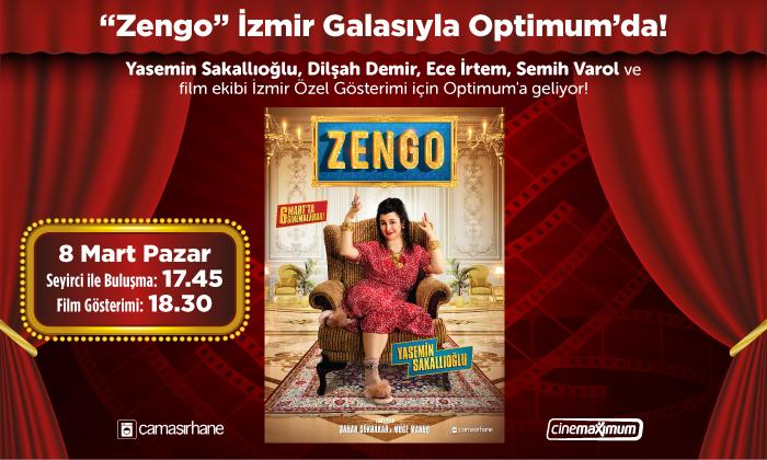 """""""Zengo"""" İzmir Galasıyla Optimum'da"""