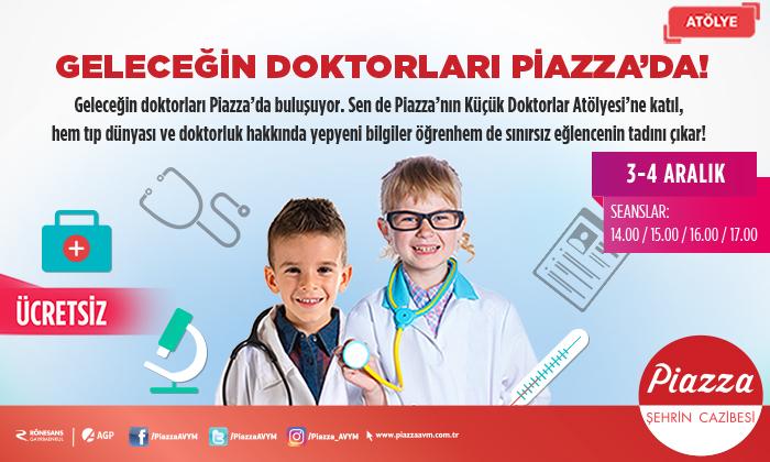 Geleceğin Doktorları Piazza 'da!