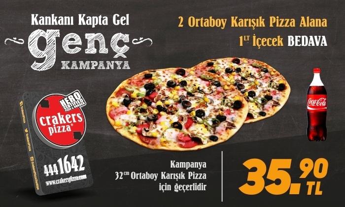 Crakers Pizza - Kankanı Kapta Gel