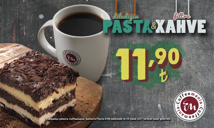 Pasta & Kahve 11.90 TL